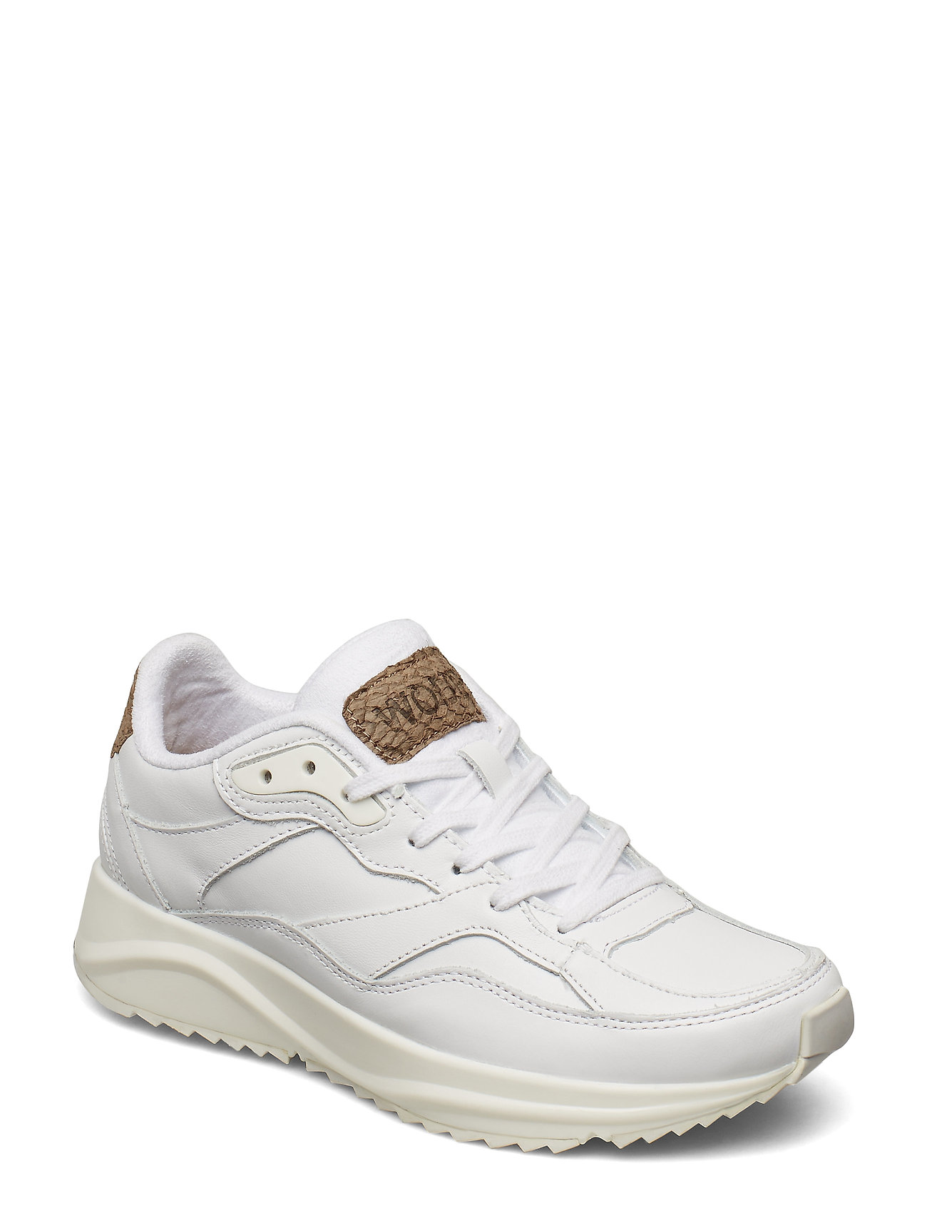 Image of Sophie Leather Low-top Sneakers Hvid Woden (3262800999)