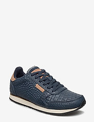 Woden - Ydun Croco - lave sneakers - navy - 0