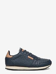 Woden - Ydun Croco - lave sneakers - navy - 1