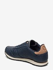 Woden - Ydun Croco - lave sneakers - navy - 2