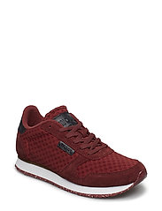 Ydun Suede Mesh - PORT WINE