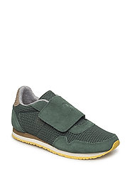 Why Mesh Suede Teen - IVY GREEN
