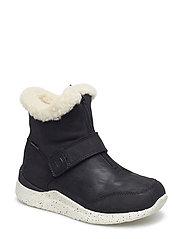 Odin Zipper Boot Kids - BLACK
