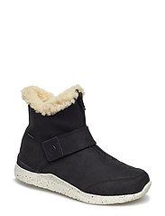 Odin Zipper Boot Teen - BLACK