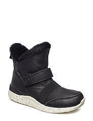 Winston Leather Teen - BLACK