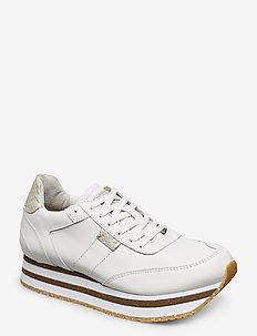 Ava - sneakers med lav ankel - bright white