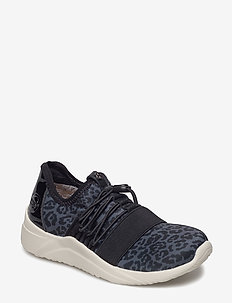 Bea JR - sneakers - black leopard