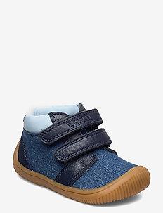 Tristan Denim - lära-gå-skor - denim