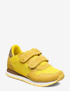 Sandra Pearl Mesh - SUPER LEMON