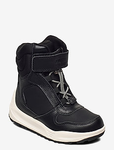 Malik Leather Boot - vinter boots - black