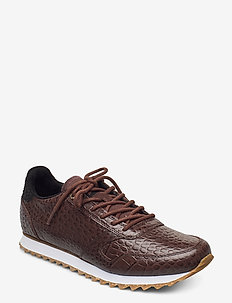 Ydun Croco Shiny - lave sneakers - potting soil
