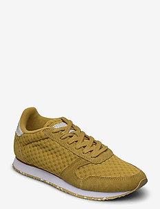 Ydun Suede Mesh II - lage sneakers - ecru olive