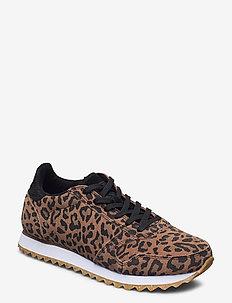Ydun Suede - sneakers med lav ankel - leopard