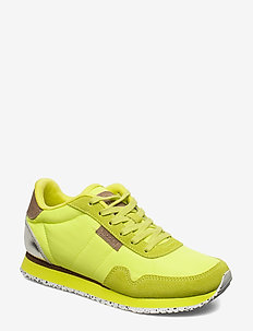 Nora II - lave sneakers - neon yellow
