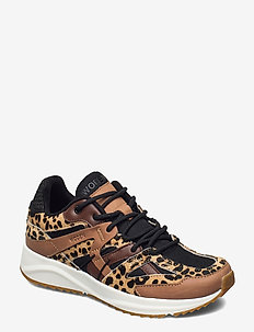 Eve Animal Fifty - sneakers med lav ankel - leopard