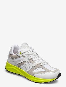 Eve Neon - sneakersy niskie - neon white