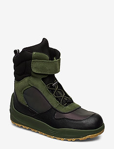 Alex Midcut Boot Teen - flat ankle boots - pine tree green