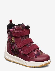 Adrian Boot Kids - winter boots - cabernet print