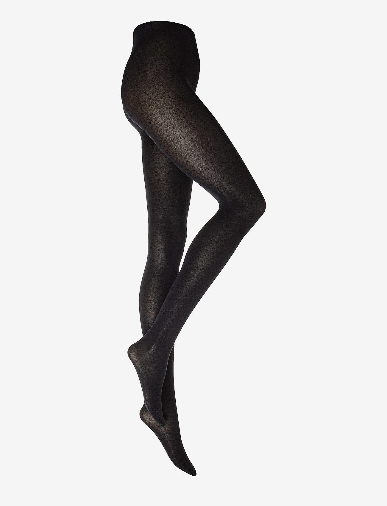 Wolford - Cotton Velvet Tights - basic strumphosen - black - 0
