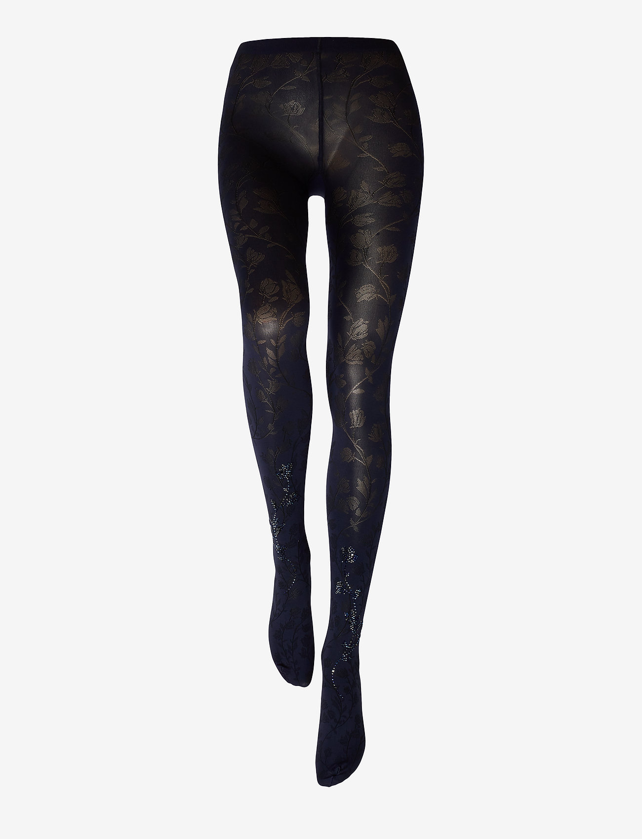Wolford - Jackie Tights - muster - navy opal/black/blue - 1