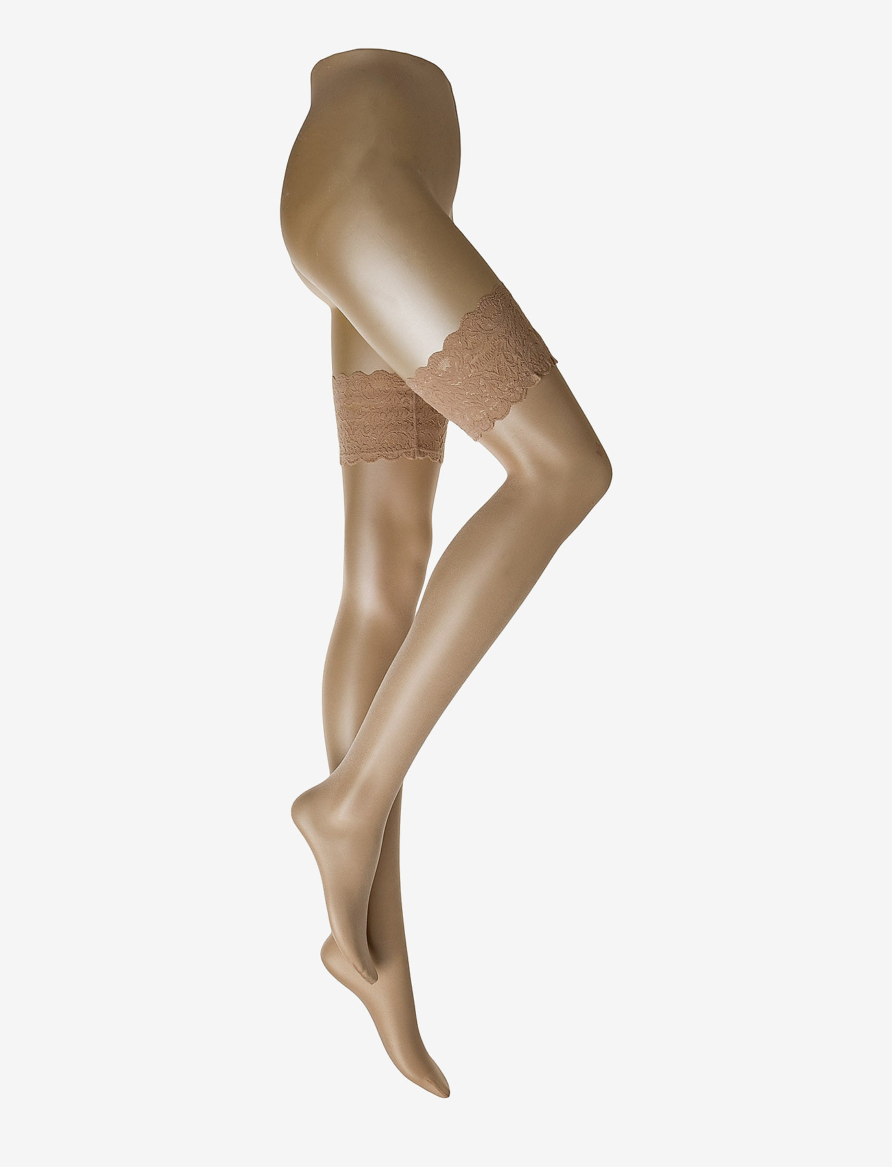 Wolford - Satin Touch 20 Stay-Up - mønster - cosmetic - 0