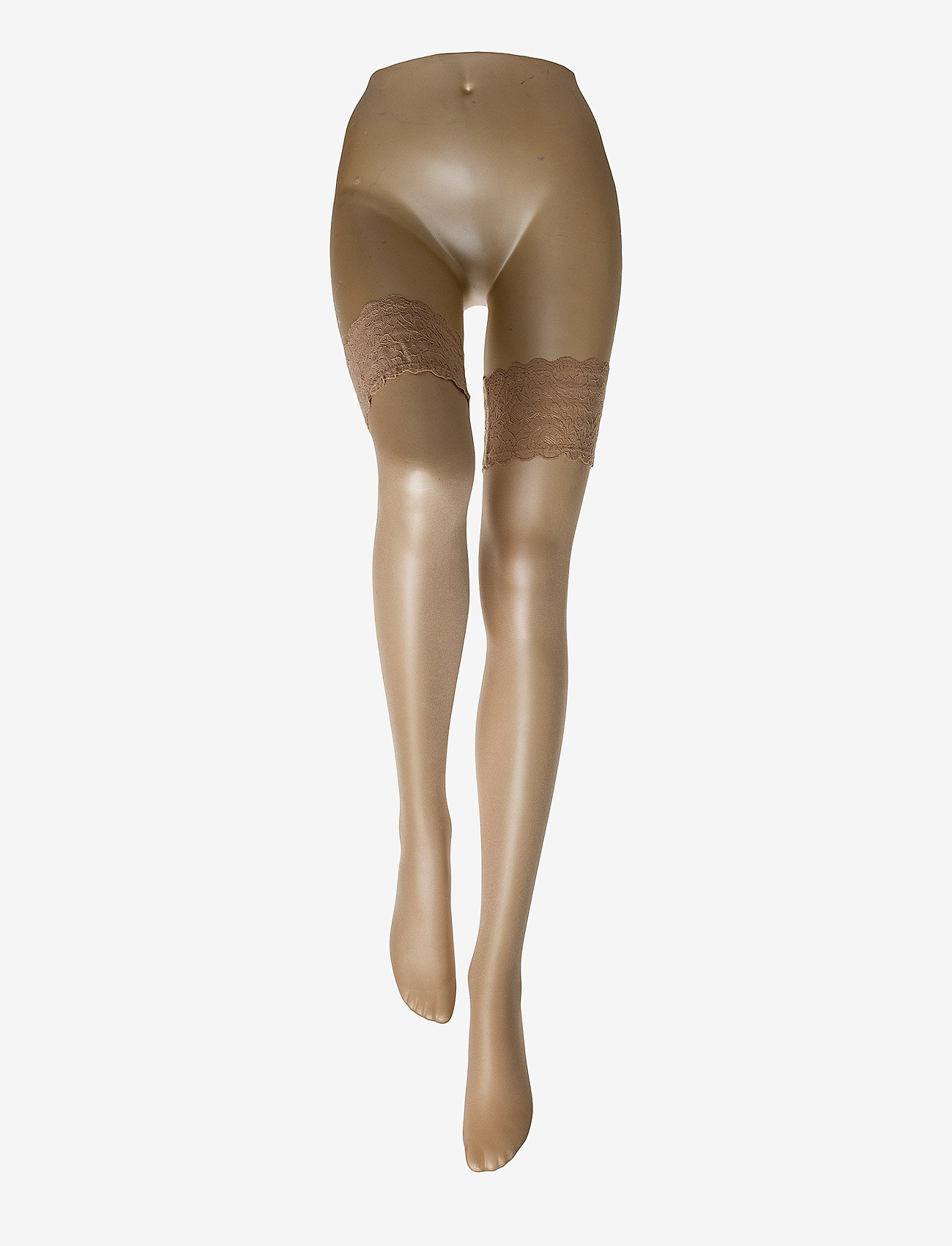 Wolford - Satin Touch 20 Stay-Up - mønster - cosmetic - 1