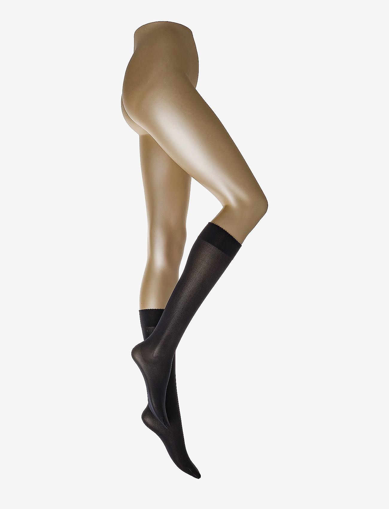 Wolford - Velvet de Luxe 50 Knee-Highs - knestrømper - admiral - 0