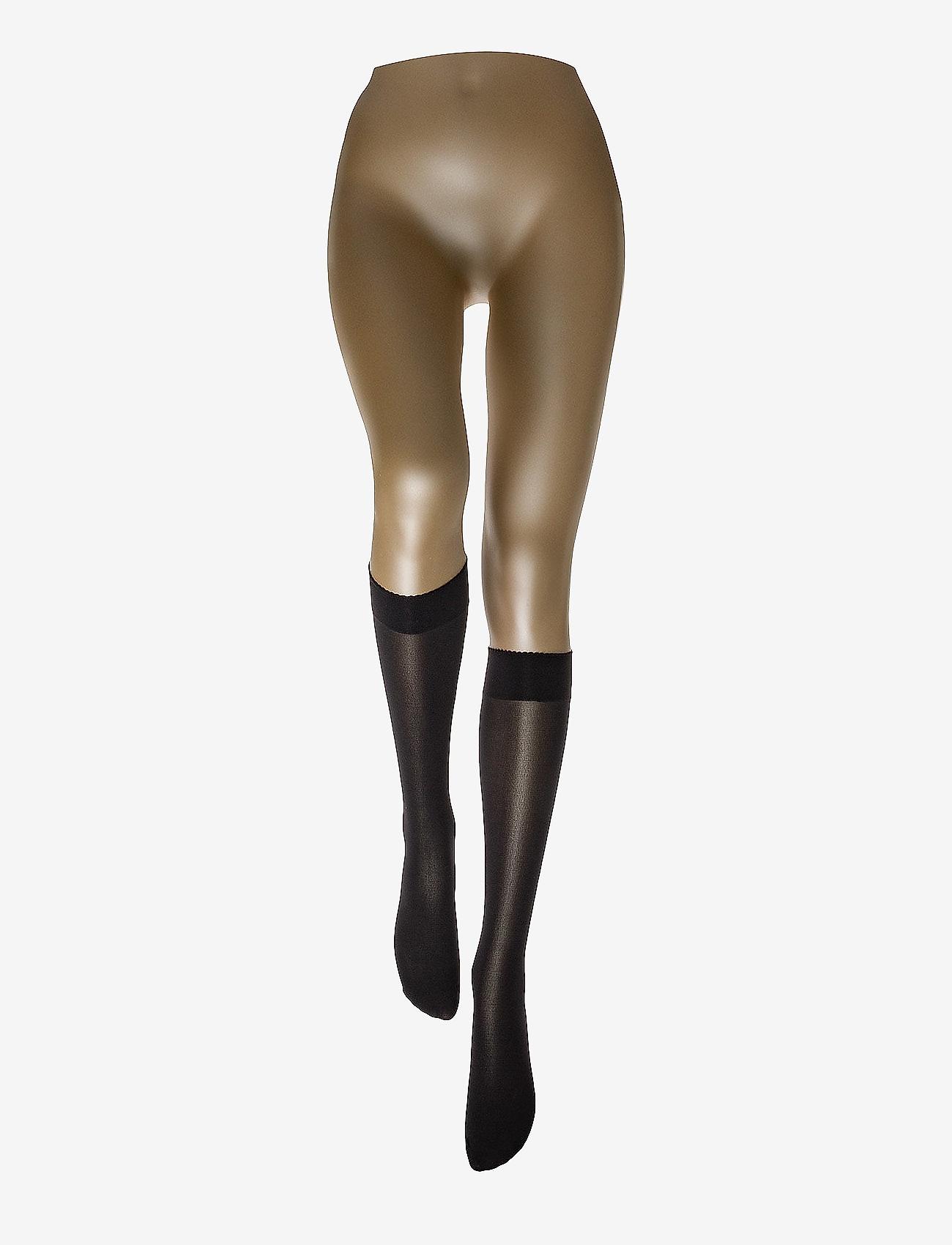 Wolford - Velvet de Luxe 50 Knee-Highs - polvisukat - black - 1
