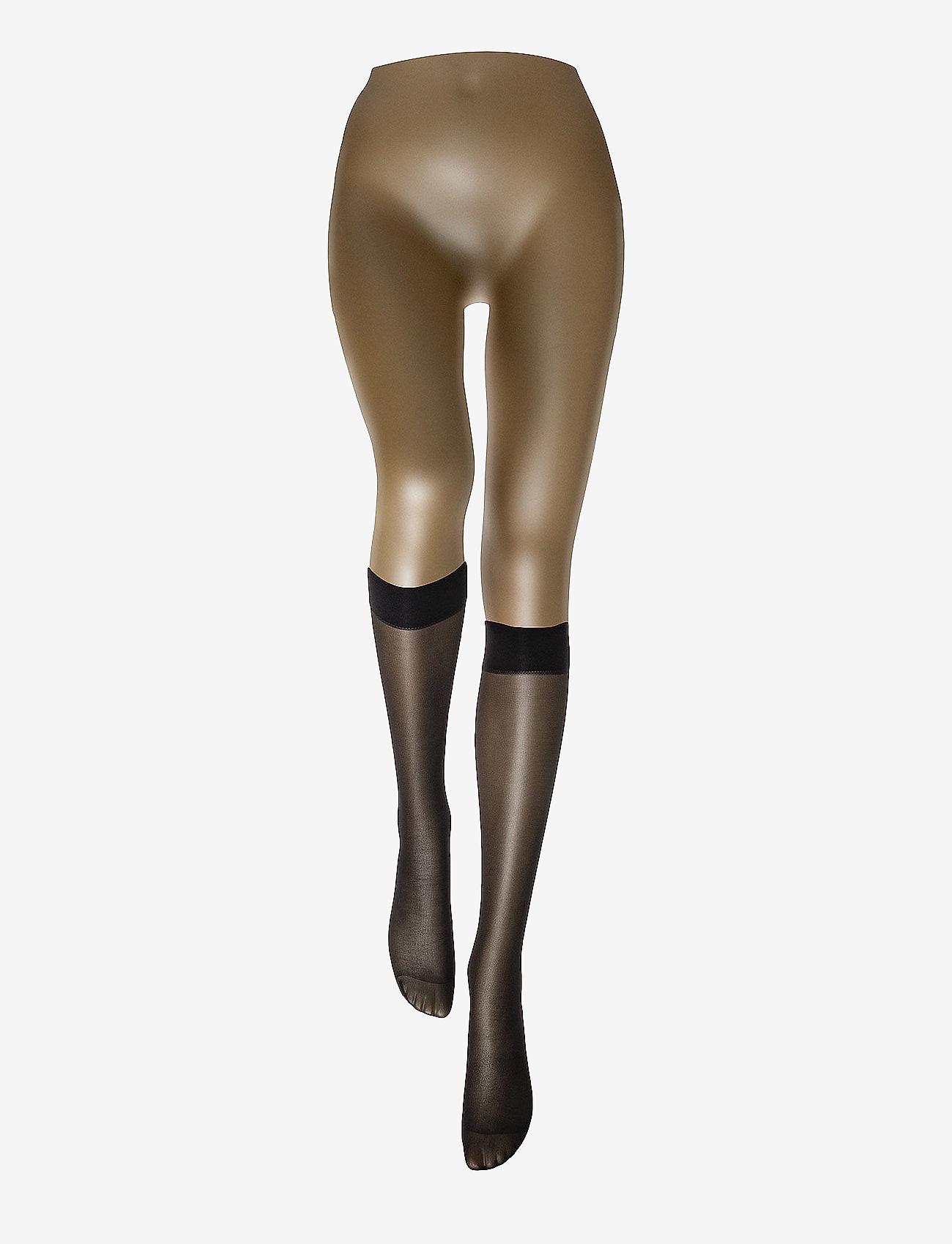 Wolford - Satin Touch 20 Knee-Highs - kniestrümpfe - black - 1