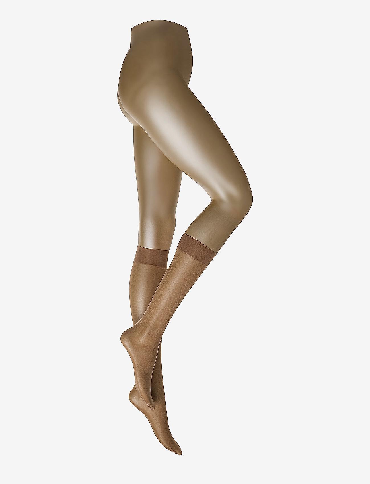 Wolford - Satin Touch 20 Knee-Highs - knestrømper - caramel - 0