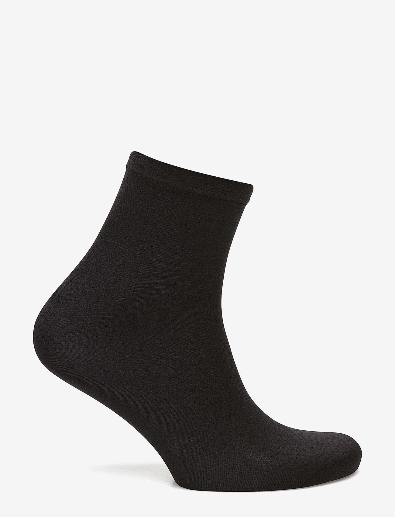 Wolford - Velvet 66 Socks - strømper - black - 1