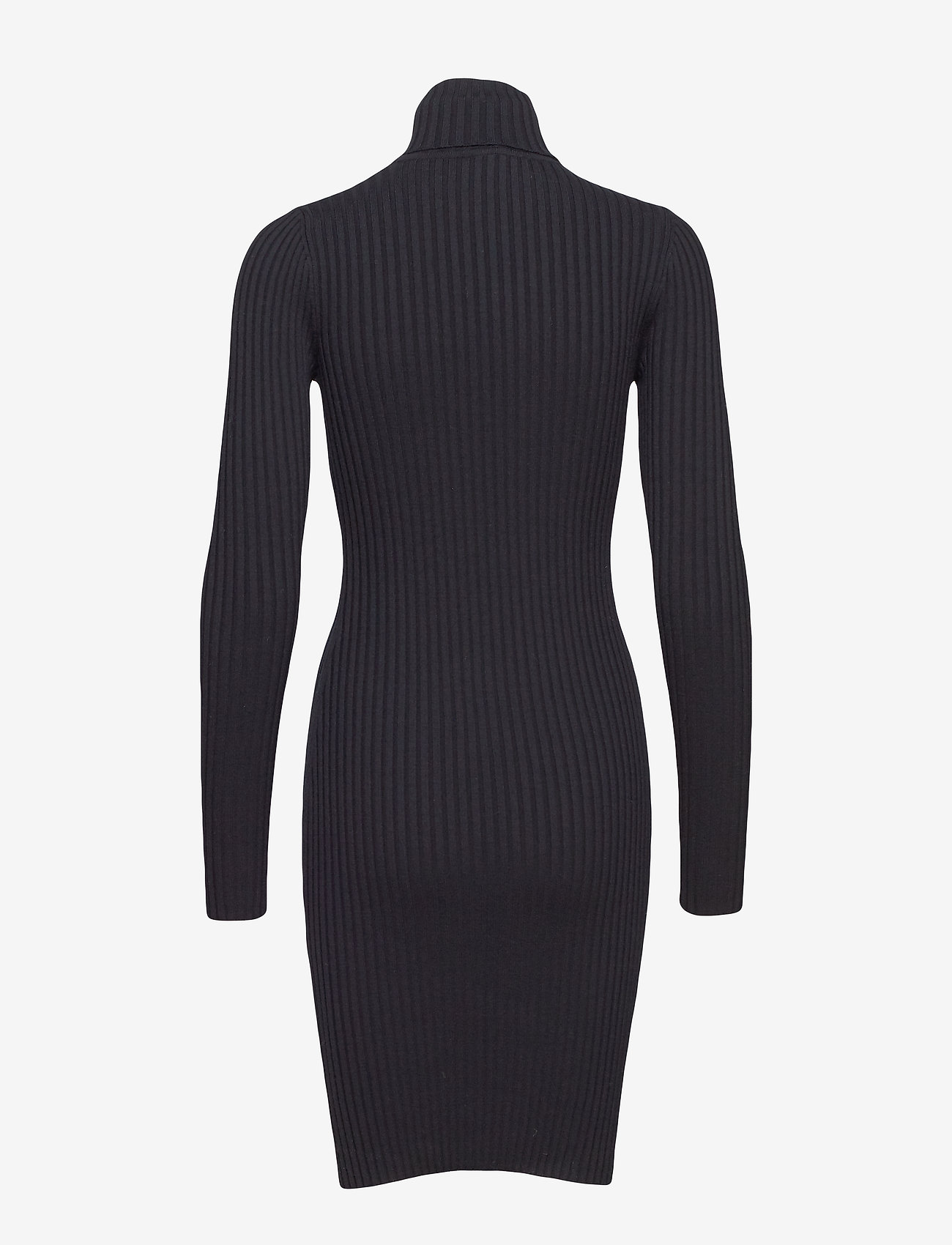 Wolford - Merino Rib Dress - midimekot - black - 1
