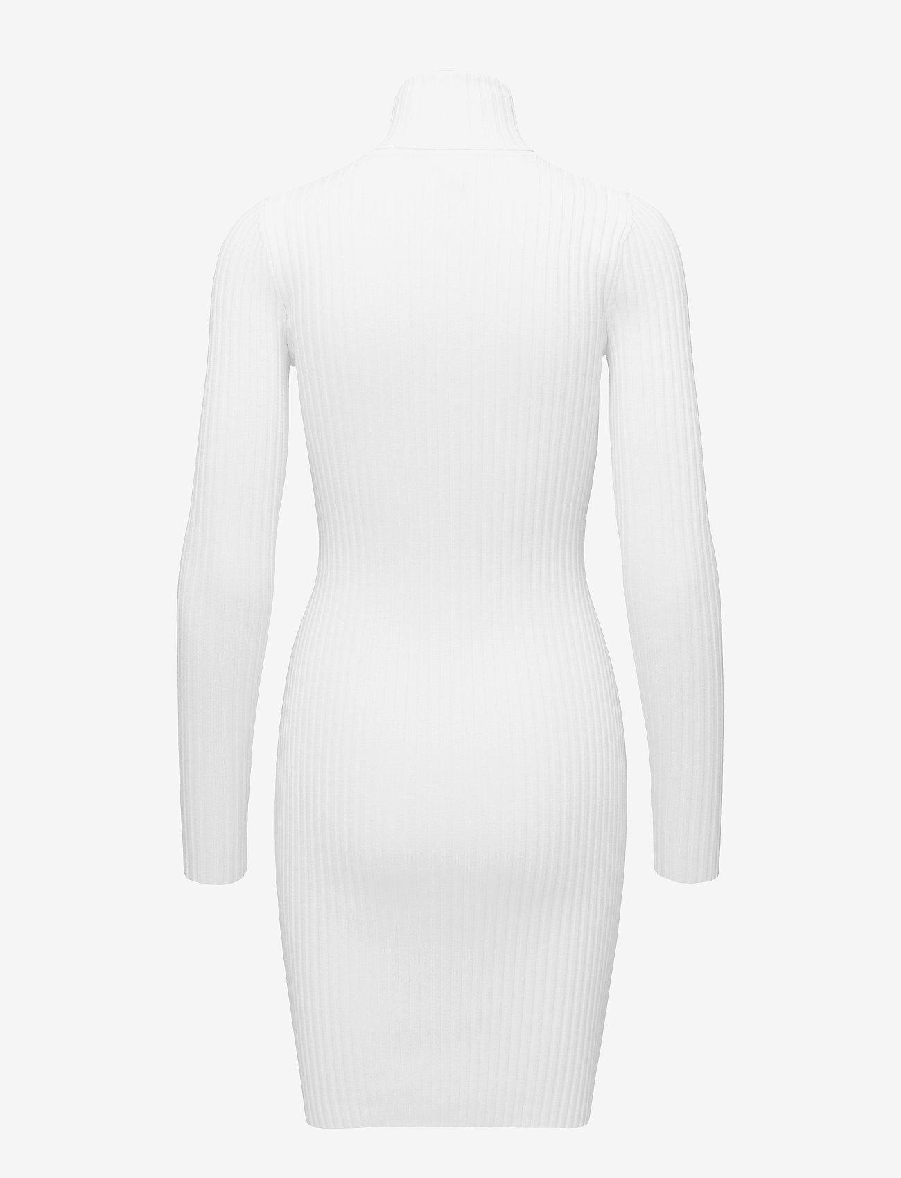 Wolford - Merino Rib Dress - bodycon kleitas - ecrue - 1