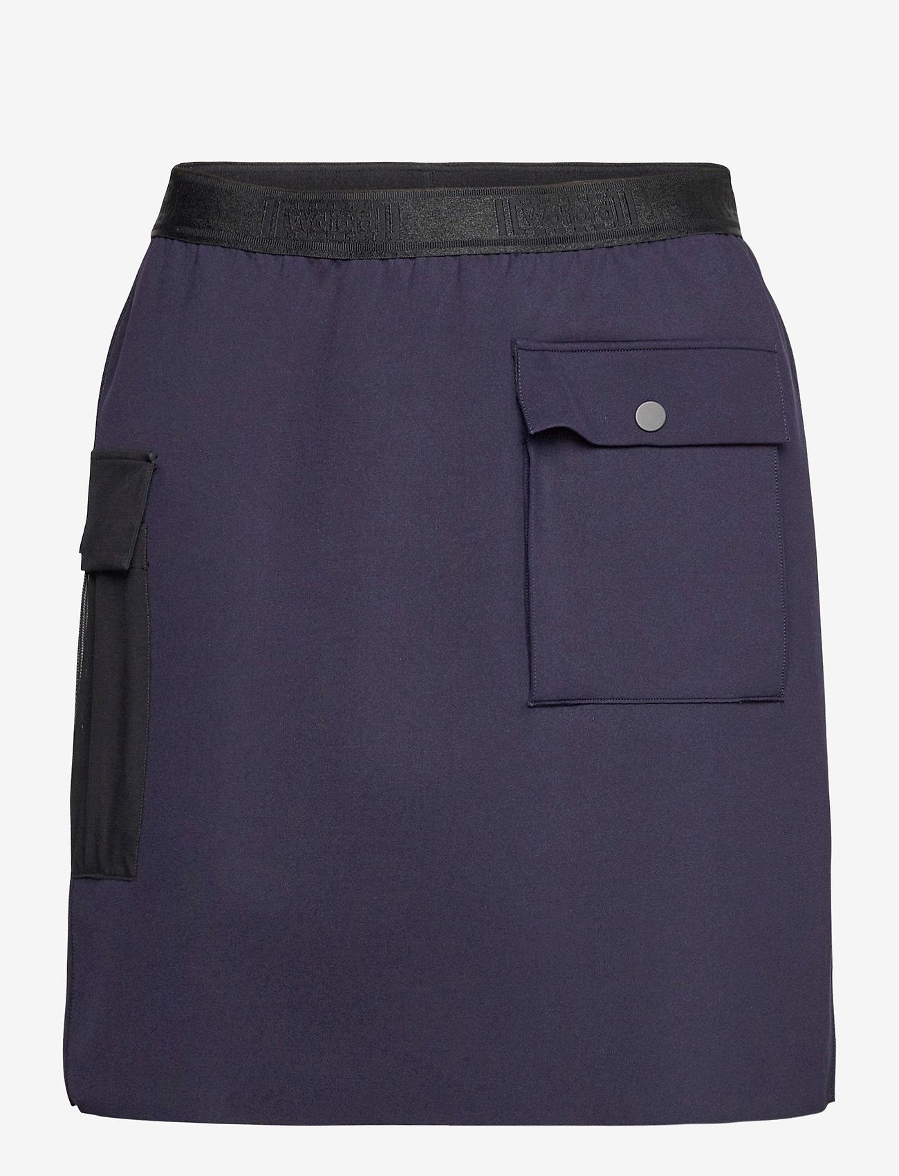 Wolford - Blair Skirt - korta kjolar - navy opal/black - 0