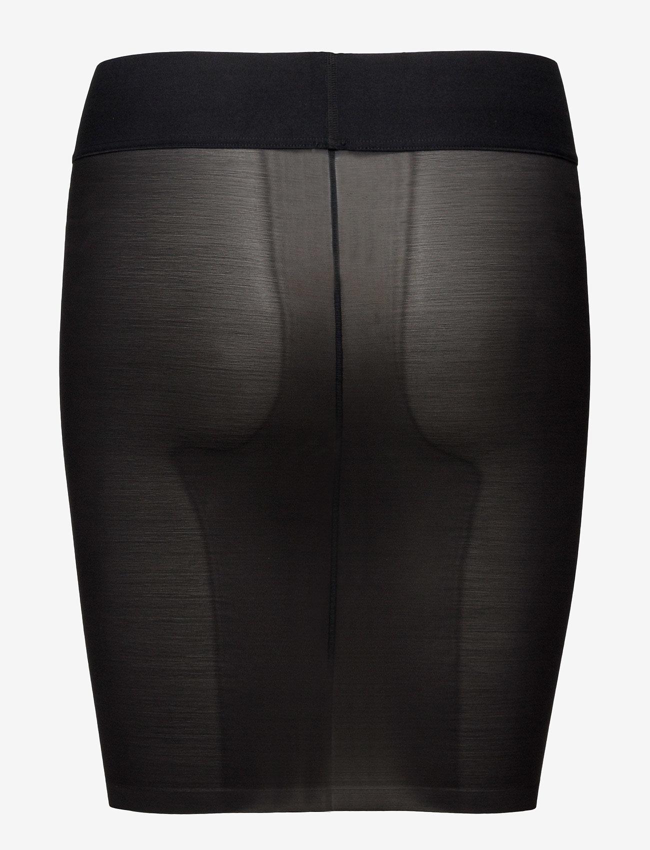 Wolford - Sheer Touch Forming Skirt - apakšējais apģērbs - black - 1
