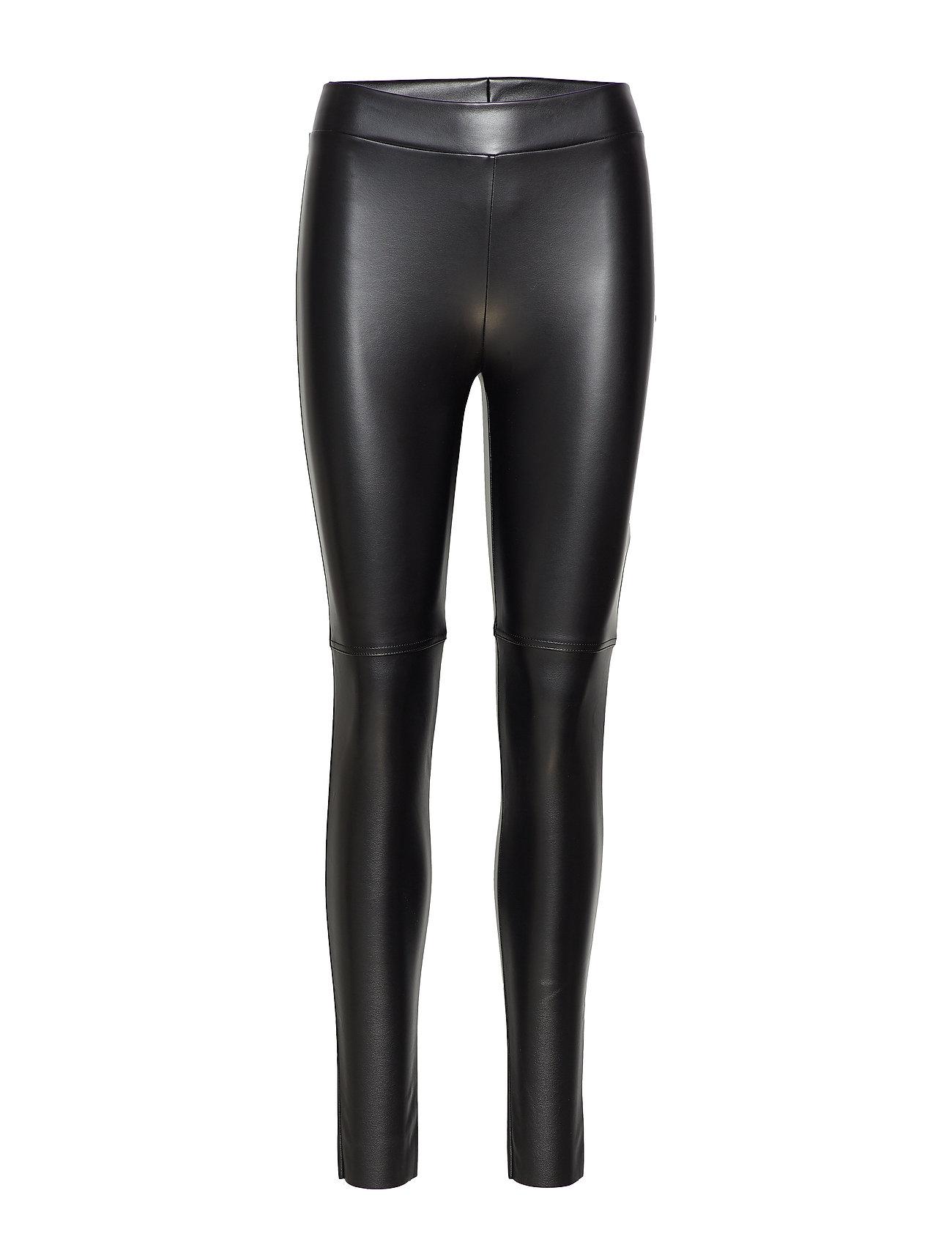 Image of Estella Leggings Leather Leggings/Bukser Sort Wolford (2980992859)