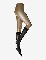 Wolford - Velvet de Luxe 50 Knee-Highs - polvisukat - black - 0