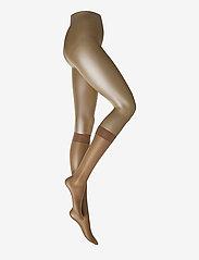 Satin Touch 20 Knee-Highs - CARAMEL