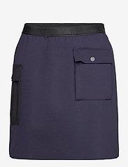 Blair Skirt - NAVY OPAL/BLACK