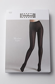 Wolford - Merino Tights - basic strumphosen - black - 2