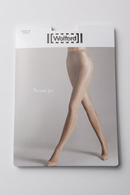 Wolford - Neon 40 Tights - basic stroempebukser - black - 2