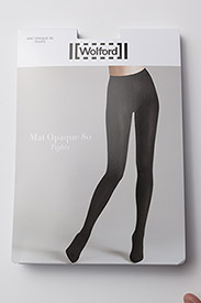 Wolford - Mat Opaque 80 Tights - basic stroempebukser - black - 2