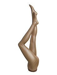 Tina Summer Net Tights - NOISETTE