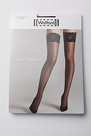 Wolford - Satin Touch 20 Stay-Up - muster - black - 2