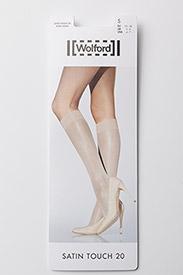 Wolford - Satin Touch 20 Knee-Highs - kniestrümpfe - black - 2