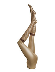 Tina Summer Net Knee-Highs - NOISETTE