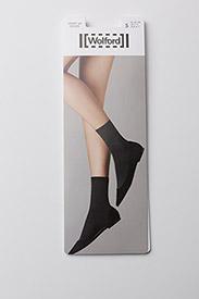 Wolford - Velvet 66 Socks - strømper - black - 2