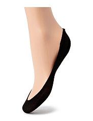 Cotton Footsies Socks - BLACK