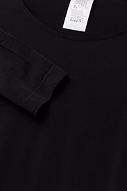 Wolford - Buenos Aires Pullover - topi ar garām piedurknēm - black - 2