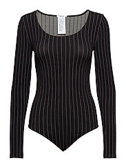 Muriel String Body - BLACK/WHITE